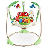 Fisher-Price K7198 Rainforest Jumperoo Baby Hopser mit Spielzeugen hhenverstellbar