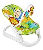 Fisher-Price CMR20 Rainforest Kompakt Wippe Babysitz mit Rasseln und sanften Schwingungen zusammenklappbar Babyerstausstattung, ab 0 Monaten