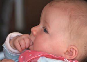 Babyschaukel Testkind
