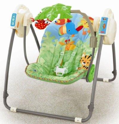 Fisher Price babyschaukel für unterwegs