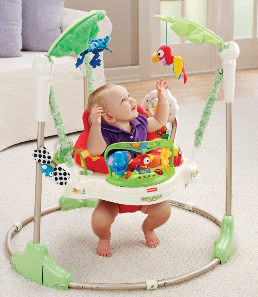 Rainforest Jumperoo Hopser